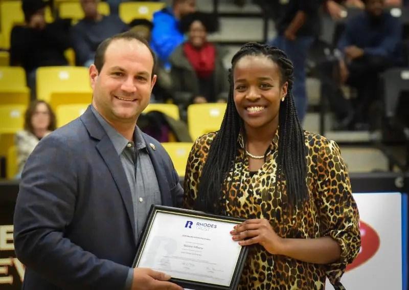 Naomi Mburu Rhodes scholar