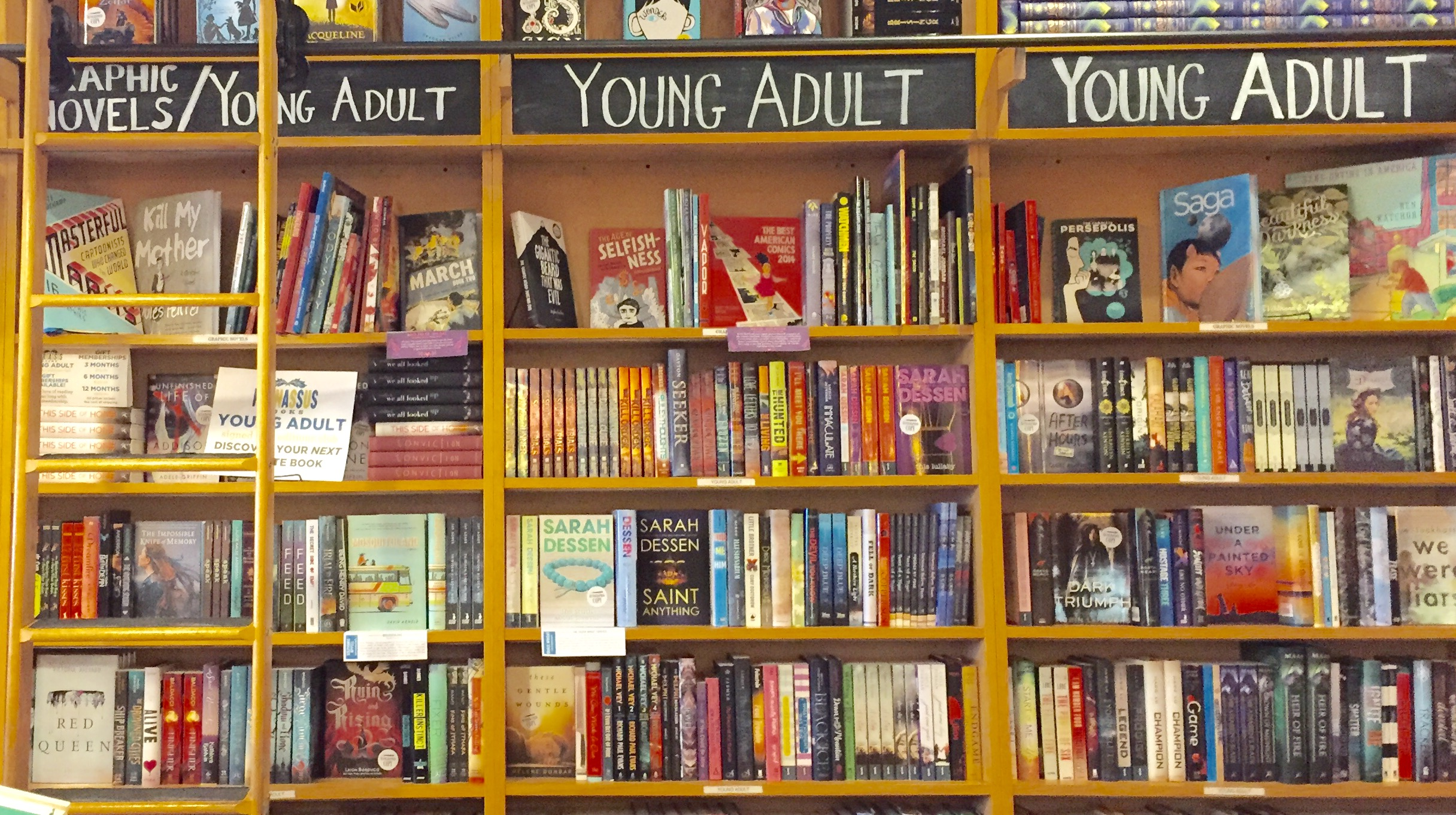 Adult fiction young books Popular