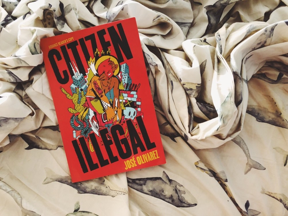 "Olivarez's poetry book ""Citizen Illegal"" captivates readers until its final word. (Image via While Reading and Walking)"
