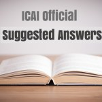 CA Final May 2018 Question Papers with suggested Answers