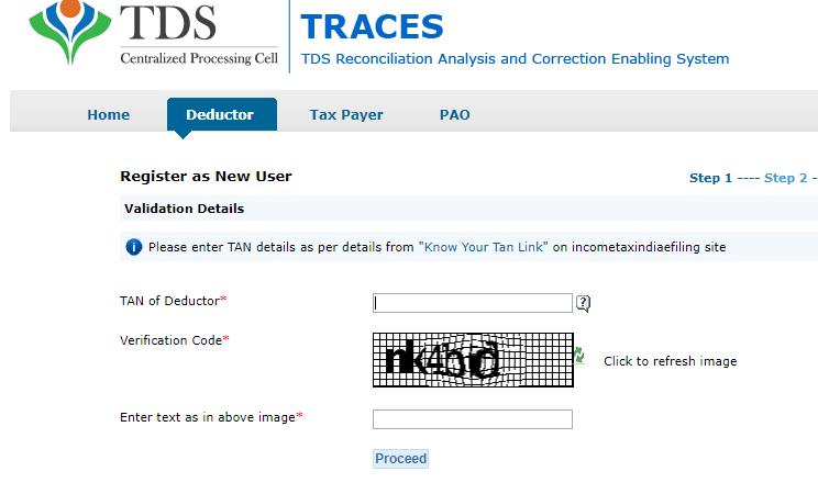 Filing TDS return   Utilities for Filing and generating TDS returns online