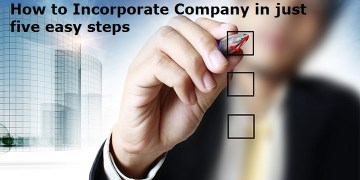 How to Incorporate Company in just five easy steps