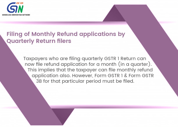 Taxpayers Filing Quarterly Return can now file Monthly