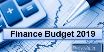 Interim BUDGET 2019 Live Update: Piyush Goyal presents Budget in Lok Sabha