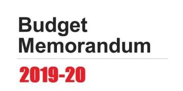 Download Memorandum To Budget 2019