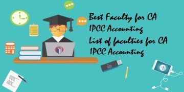 Best Faculty for CA IPCC Accounting|List of faculties for CA IPCC Accounting