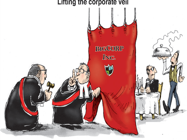 Significant Beneficial Owner – Lifting of Corporate Veil