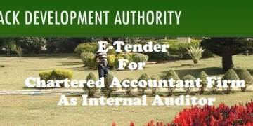 E-Tender For Chartered Accountant Firm as Internal Auditor of Cuttack Development Authority