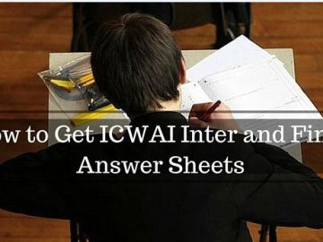 Procedure for Obtaining Certified Photocopy of Answer copies of CMA June 2019 Exam
