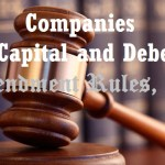 Companies (Share Capital and Debenture) Amendment Rules, 2019