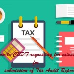 Representation to CBDT requesting for extension of time for submission of Tax Audit Reports and related returns from 30th September, 2019 to 30th November, 2019