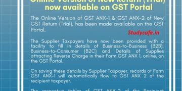 GST Portal Updates - 14th September 2019