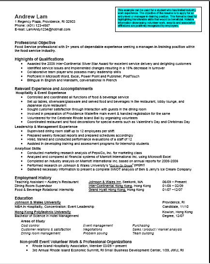 mba student resume examples resume examples