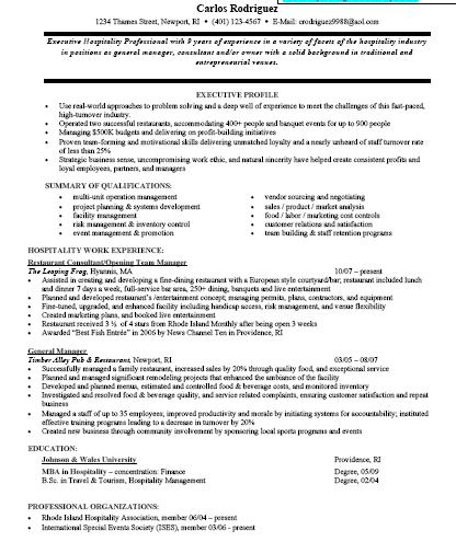 resume samples with free download one page excellent resume sample