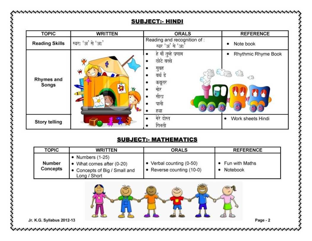 Kg2 English Worksheets