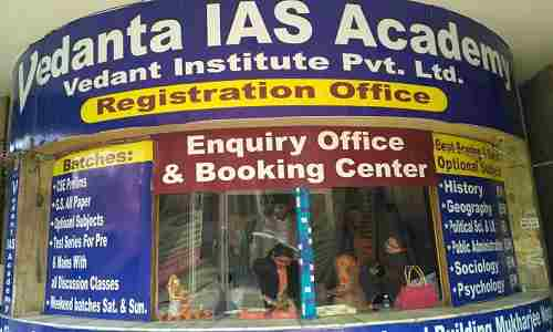 Vedanta IAS Academy Delhi | IAS Coaching in Rohini | IAS institute Admission & Fee