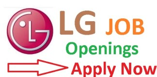 LG Recruitment 2019