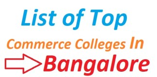 List of Top Commerce Colleges In Bangalore 2019
