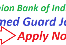 Union Bank of India Recruitment 2019