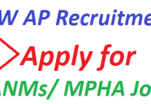 CFW AP Recruitment 2019