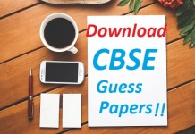 CBSE Guess Papers Class 10