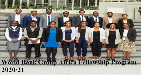 World Bank Group Africa Fellowship Program 2022