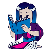 a Hmong woman reading