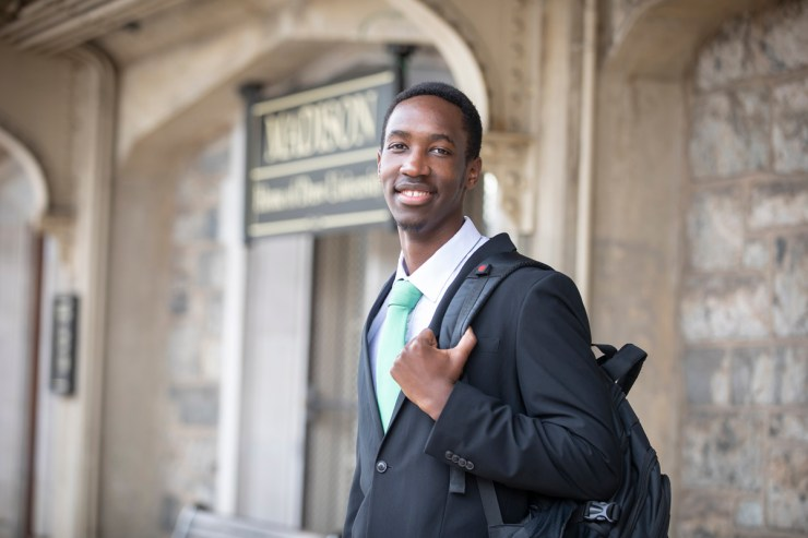 You can read more about Joseph's experience on Drew University's website.
