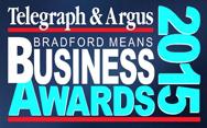 Bradford Means Business Awards 2015 logo