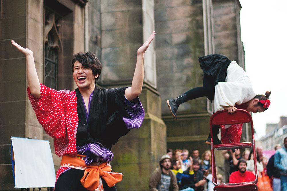 Festivals, holidays and events in the UK - Edinburgh Fringe Festival