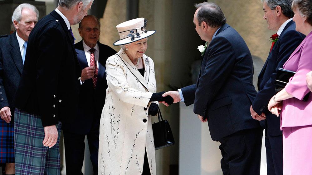 British Etiquette - handshake