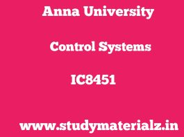 IC8451 Control Systems