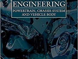 Automotive Engineering Powertrain, Chassis System and Vehicle Body PDF Book By David Crolla Professor
