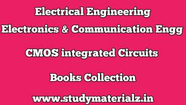 CMOS Integrated Circuits Books Collection