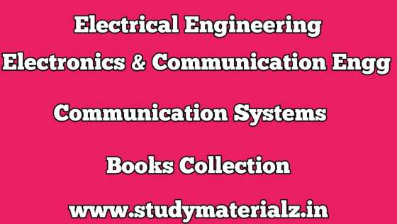 Communication Systems Books Collection