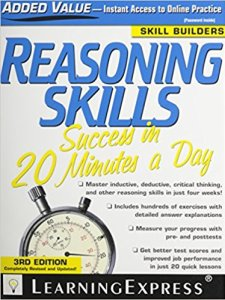 Reasoning Skills Success in 20 Minutes a Day By LearningExpress LLC Editors
