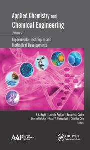 Applied Chemistry and Chemical Engineering, Volume 4: Experimental Techniques and Methodical Developments