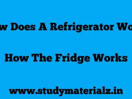How does a refrigerator work? | How the fridge works
