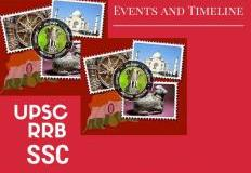 Indian History Events and Timeline for UPSC RRB SSC and State PCS Exams