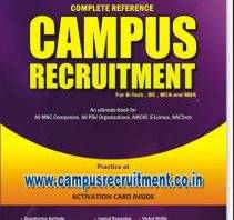 Campus Recruitment Complete Reference By Praxis groups