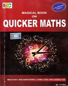 Magical Book On Quicker Maths By M. Tyra