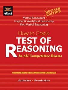 How to Crack Test of Reasoning: In All Competitive Exam By Jaikishan, Premkishan