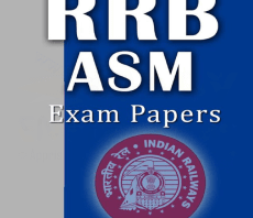 RRB Assistant Station Master (ASM) Previous Year Exam Papers with Key