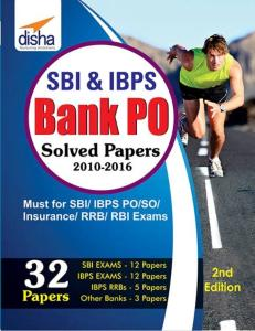 SBI & IBPS Bank PO Solved Papers – 32 Papers By Disha Experts