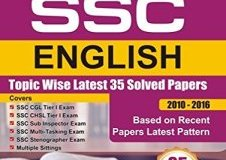 SSC English Topic-wise LATEST 35 Solved Papers By Disha Experts