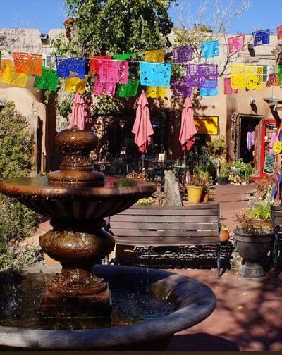 Poco a Poco Patio, Old Town Albuquerque