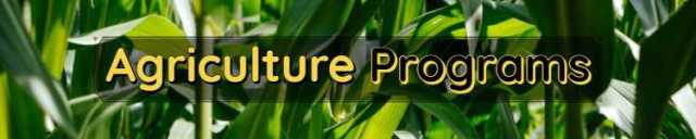 Agriculture Programs Scope & Admissions