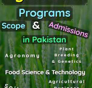 All Agriculture Programs Scope Admissions & Universities in Pakistan fi