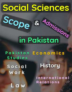 All Arts Social Sciences Programs Scope Admissions & Universities in Pakistan fi