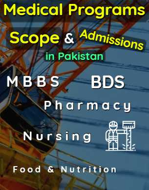 All Medical Programs Scope Admissions & Universities in Pakistan fi